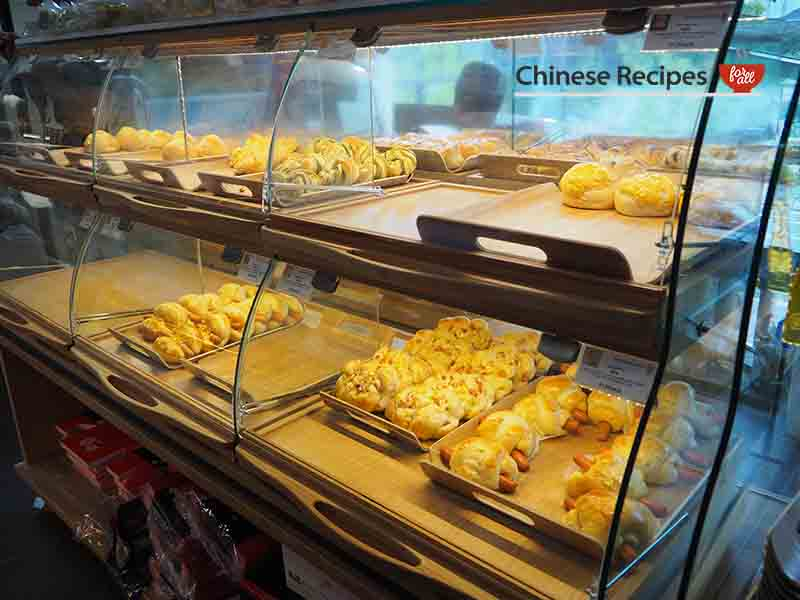 Chinese bakery patisserie interior - Bang Bang Oriental Food Hall Review in North London
