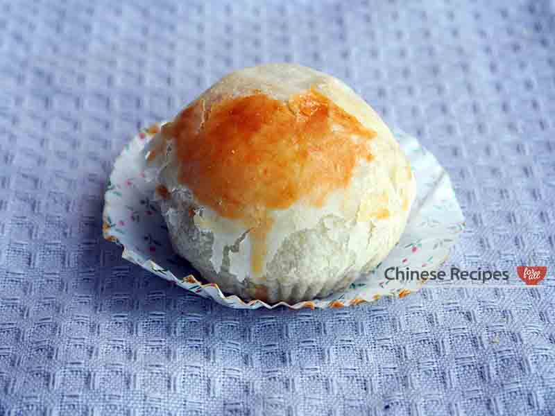 Lotus Paste Century Egg Flaky Puff Pastry leen yung soh chinese bakery