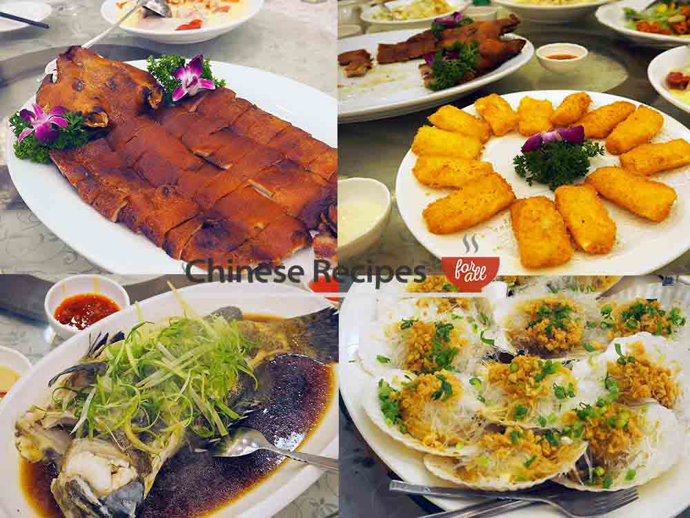 What DOES a 17 course Chinese banquet look like? - Chinese Recipes For All.com