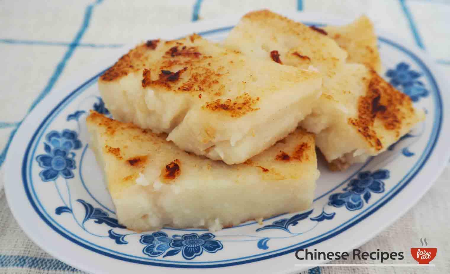 white turnip cake - dim sum