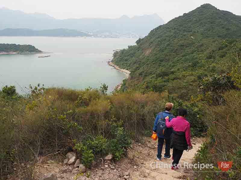 hong kong sharp island hiking views