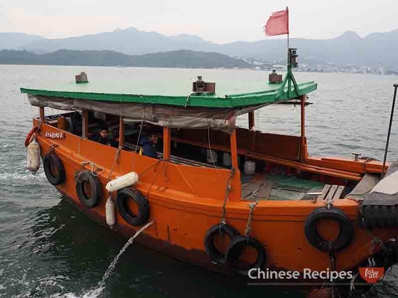 hong kong sharp island boat from sai kung
