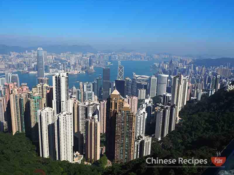 hong kong victoria peak view 360