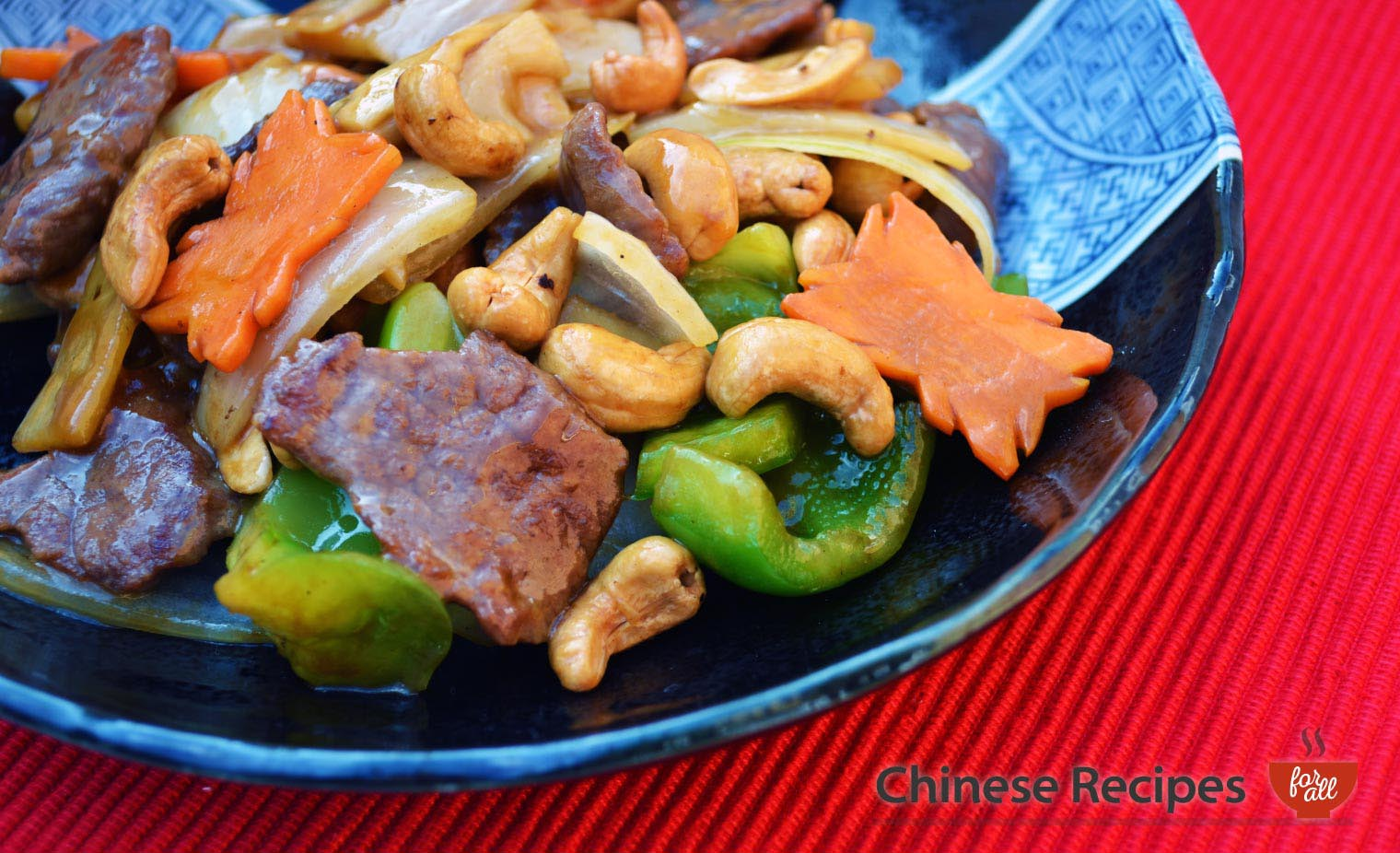 Beef and Cashew Nuts  - Chinese Recipes For All