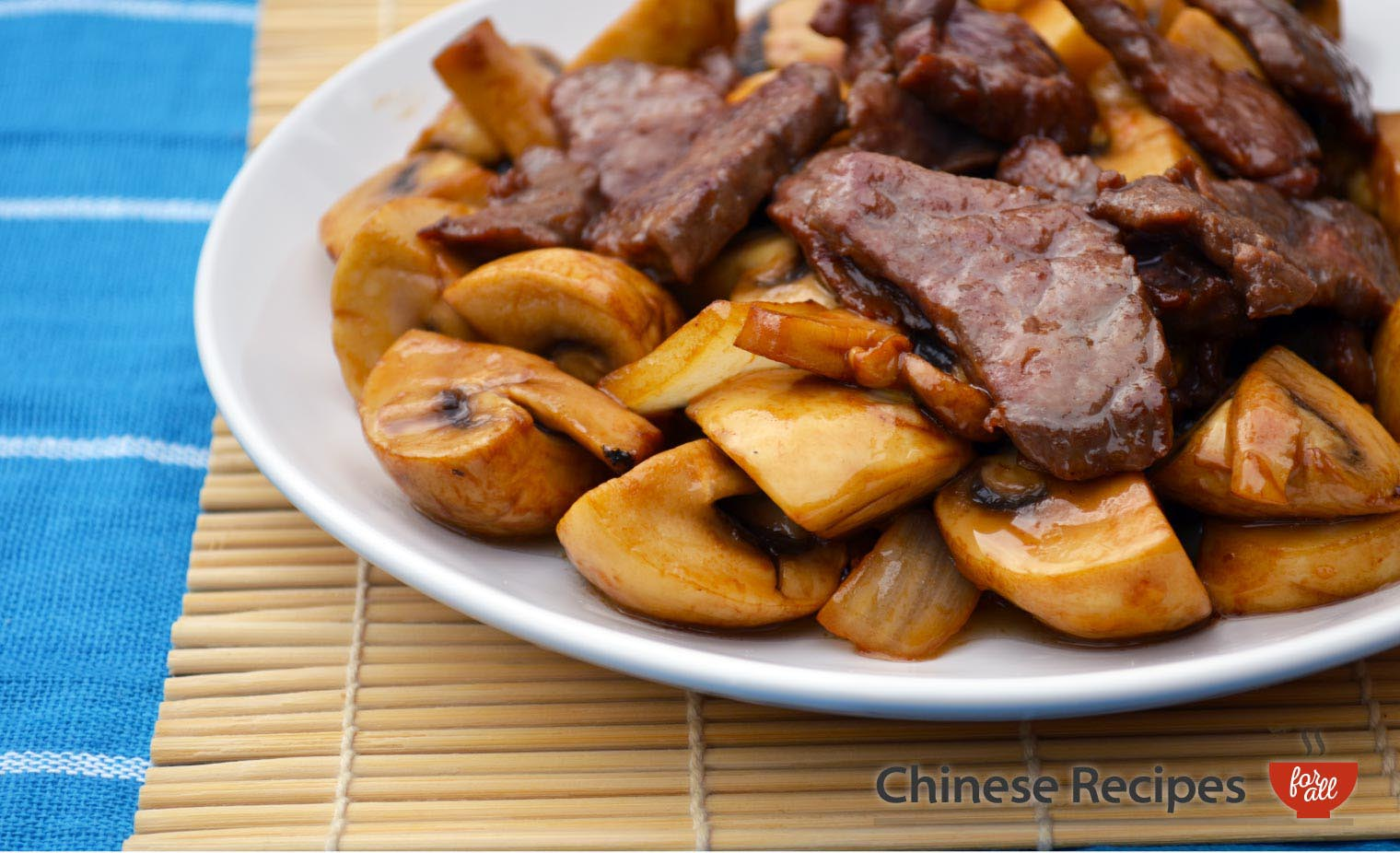 Beef and Mushrooms - Chinese Recipes For All