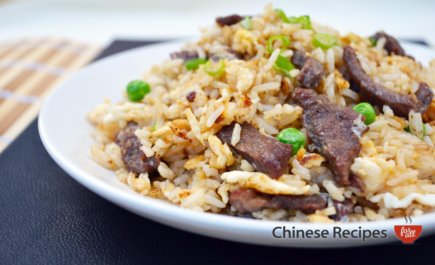Beef Fried Rice - Chinese Recipes For All