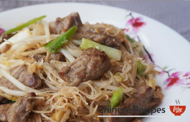 Beef Vermicelli Noodles - Chinese Recipes For All