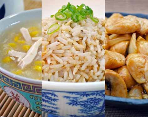 Set Meals - Chinese Recipes For All