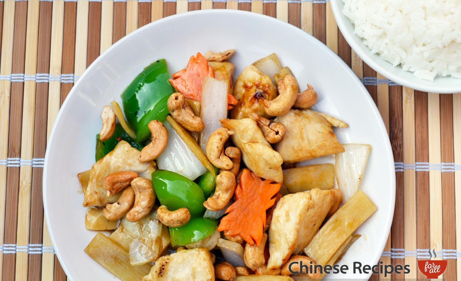 Chicken and Cashew Nuts - Chinese Recipes For All