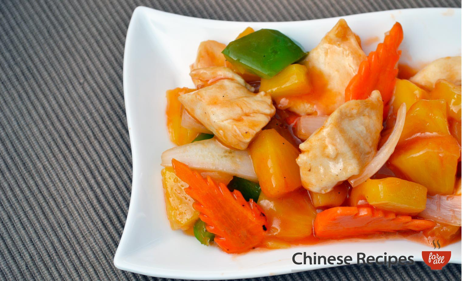 Chicken and Pineapple - Chinese Recipes For All