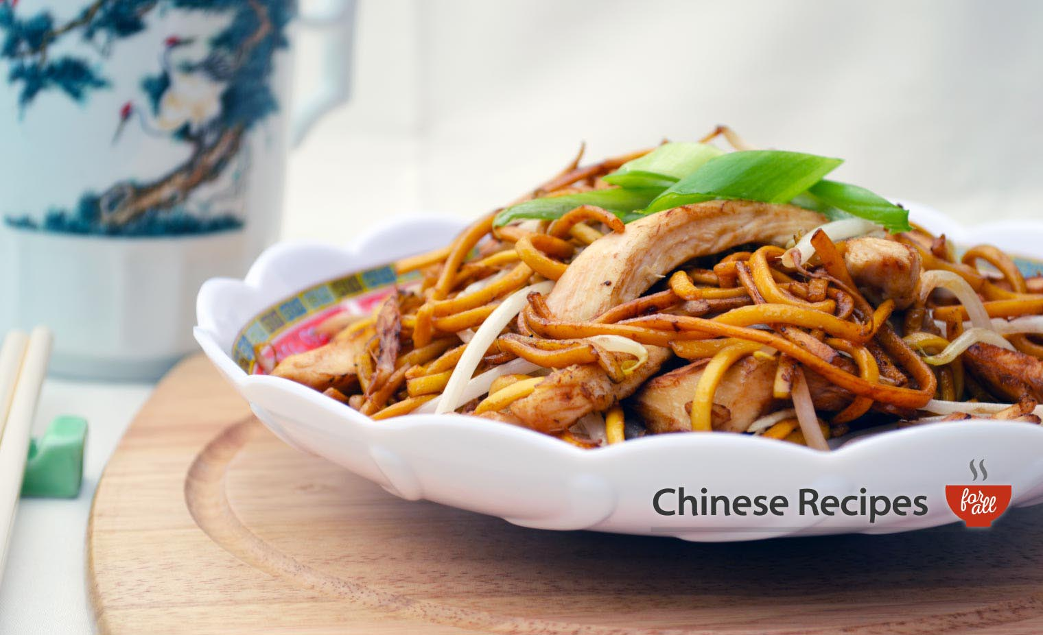 Chicken Chow Mein Noodles Chinese Recipes For All