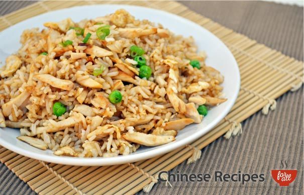 Chicken Fried Rice - Chinese Recipes For All