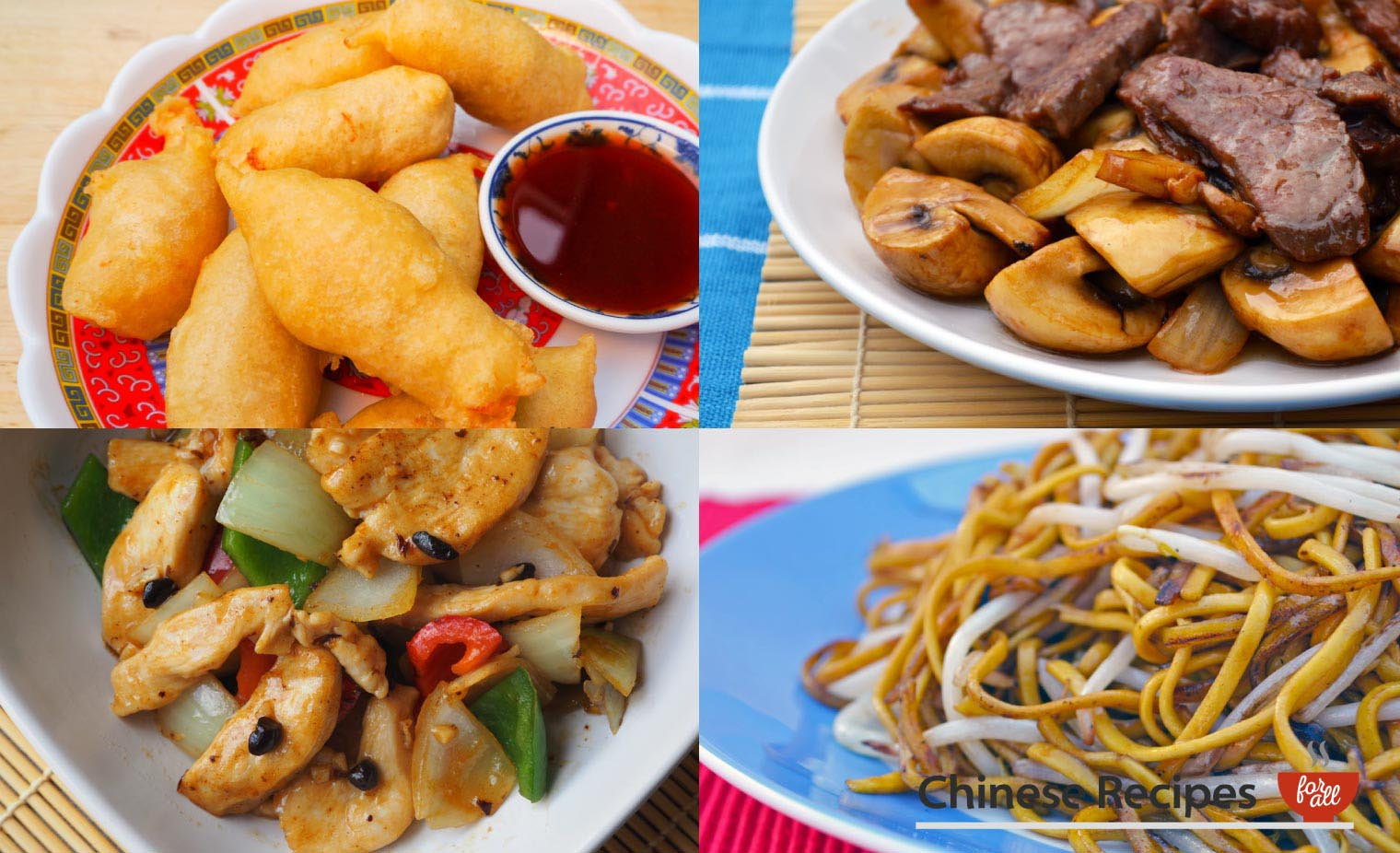 How to Cook a Chinese Takeaway Meal for Two - Chinese Recipes For All
