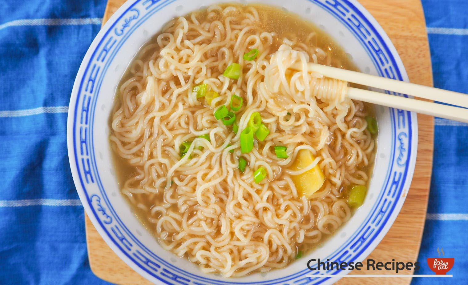 Instant Ramen Noodles Without Using MSG Packet Powder - Chinese Recipes For All