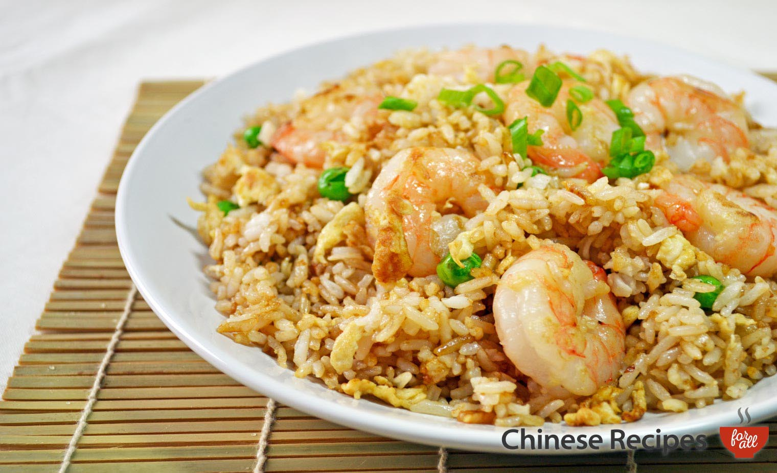 King Prawn Fried Rice - Chinese Recipes For All
