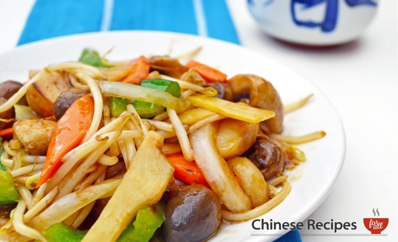 Mixed vegetables - Chinese Recipes For All