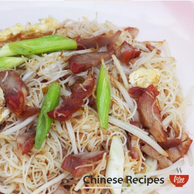Roast Pork Vermicelli Noodles