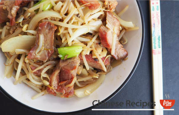 Roast Pork Chop Suey - Chinese Recipes For All