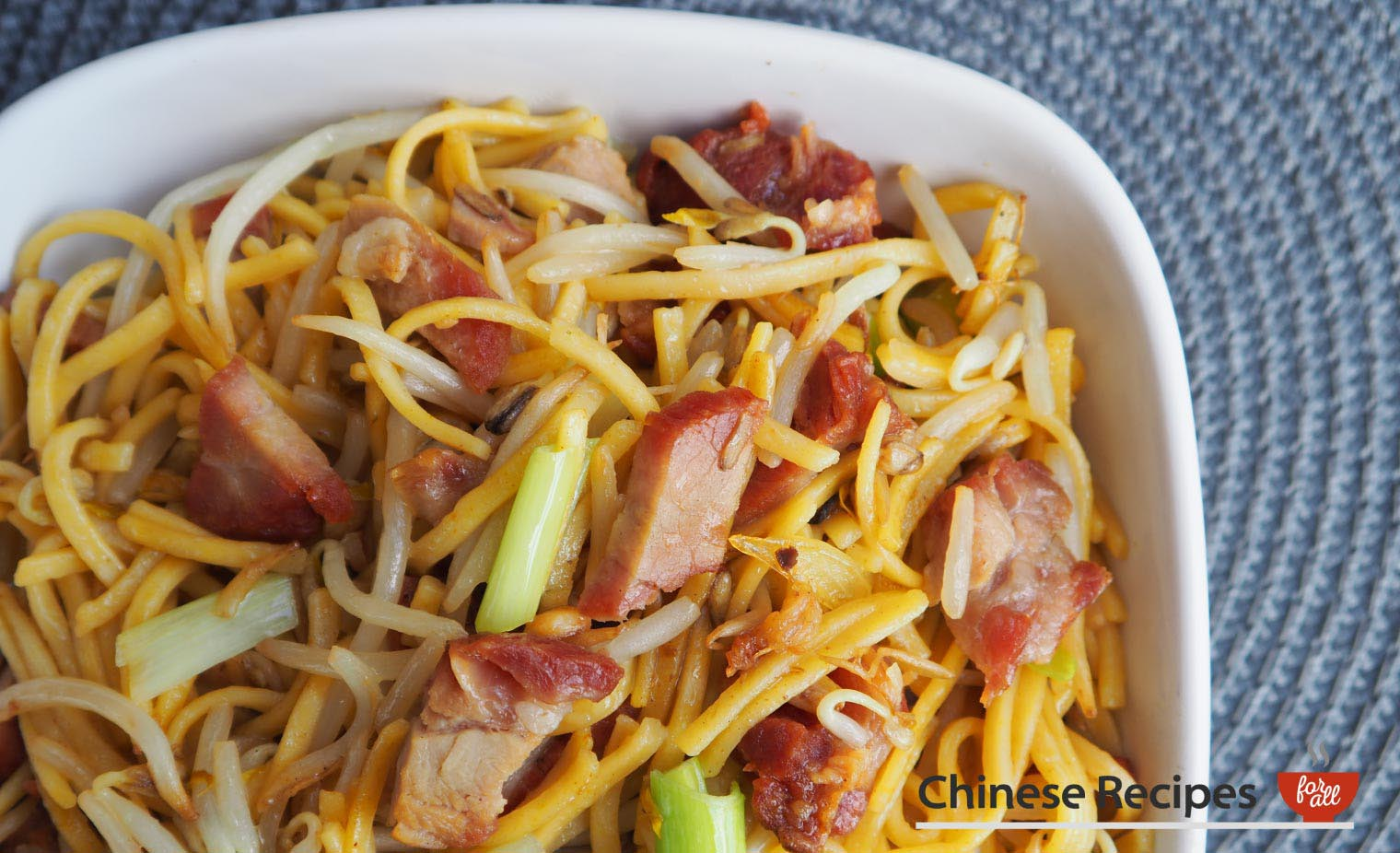 Roast Pork Chow Mein - Chinese Recipes For All