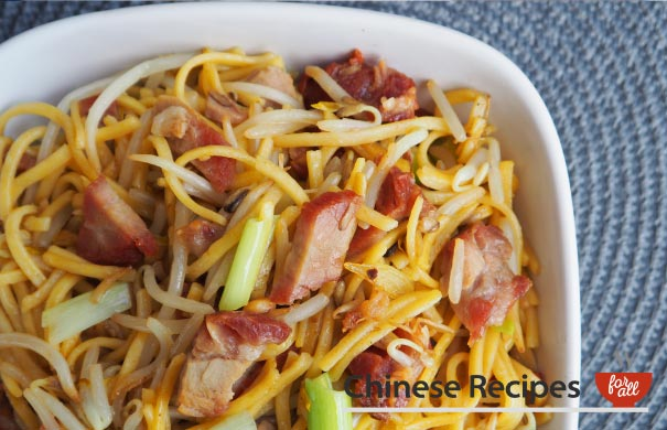Roast Pork Chow Mein