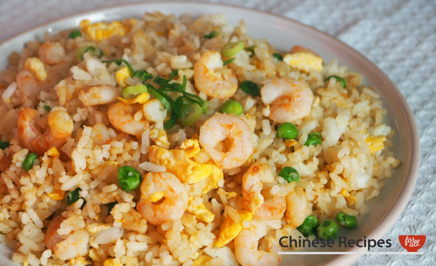 Shrimp Fried Rice - Chinese Recipes For All