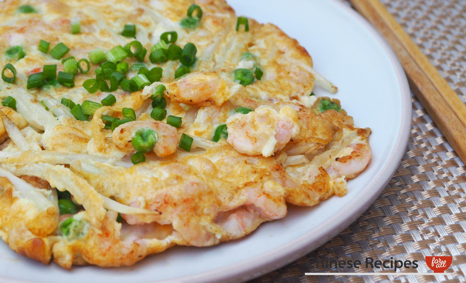 Shrimp Fu Yung Omelette - Chinese Recipes For All