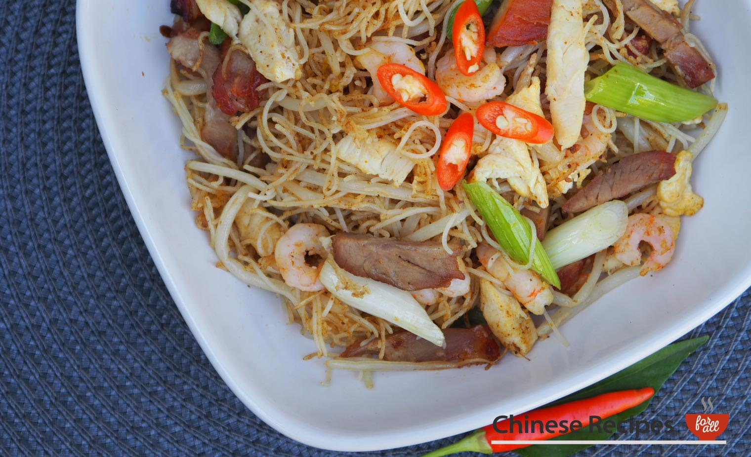 Singapore vermicelli noodles chinese recipes for all forumfinder Choice Image