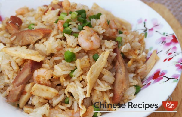 Special Fried Rice - Chinese Recipes For All