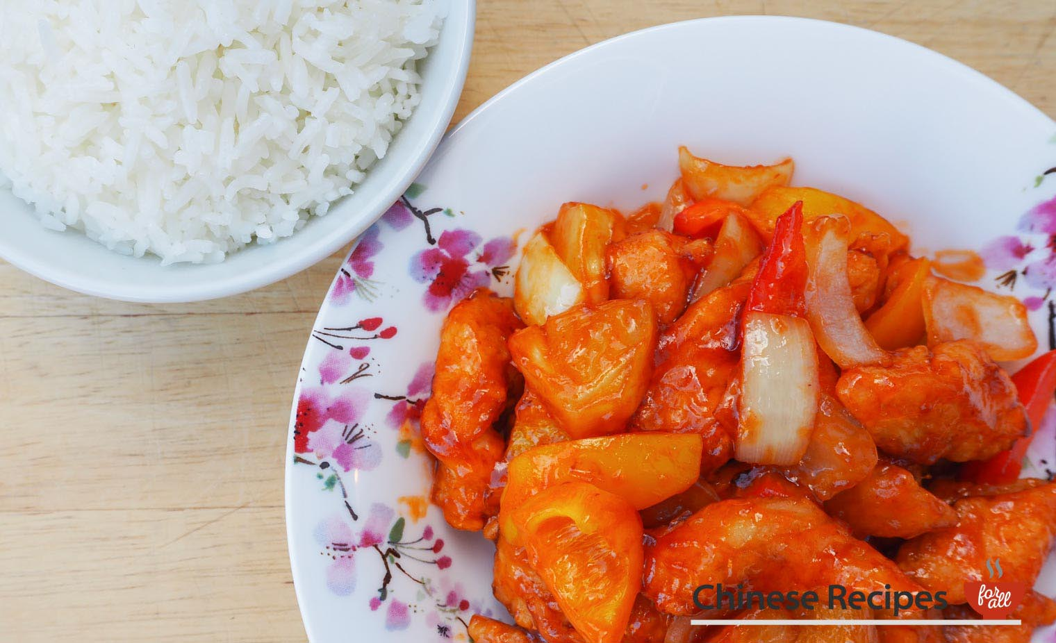 Sweet and sour chicken hong kong style chinese recipes for all forumfinder Choice Image