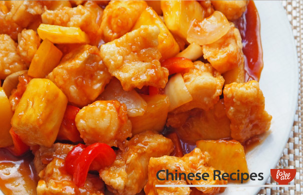 Sweet and Sour Fish (Cod) Cantonese Style - Chinese Recipes For All