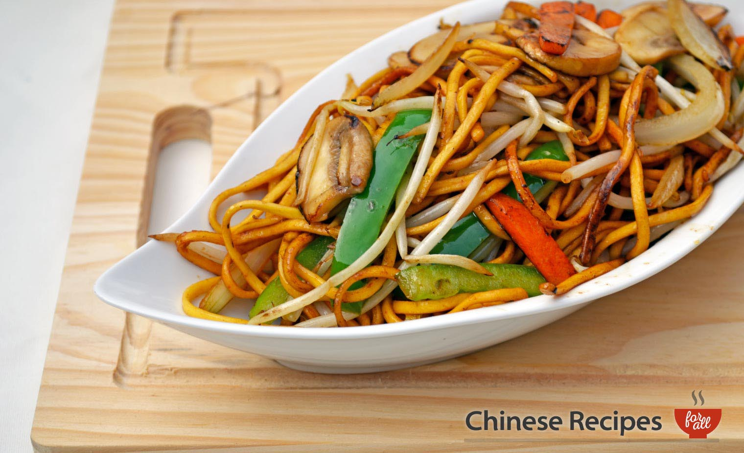 Vegetable Chow Mein Noodles Chinese Recipes For All