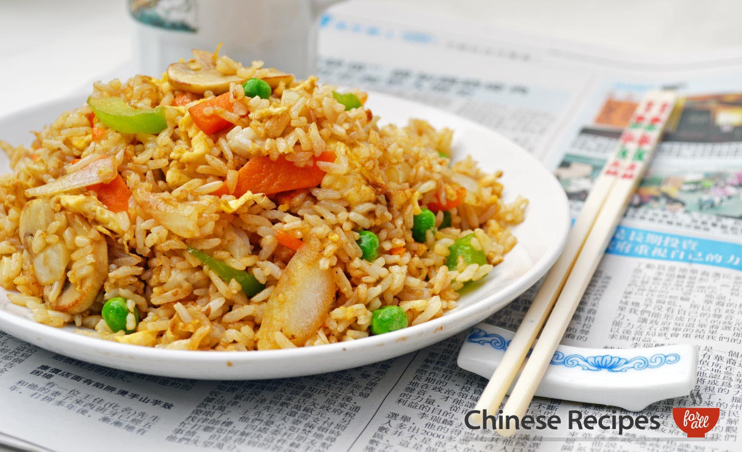 Vegetable Fried Rice Chinese Recipes For All